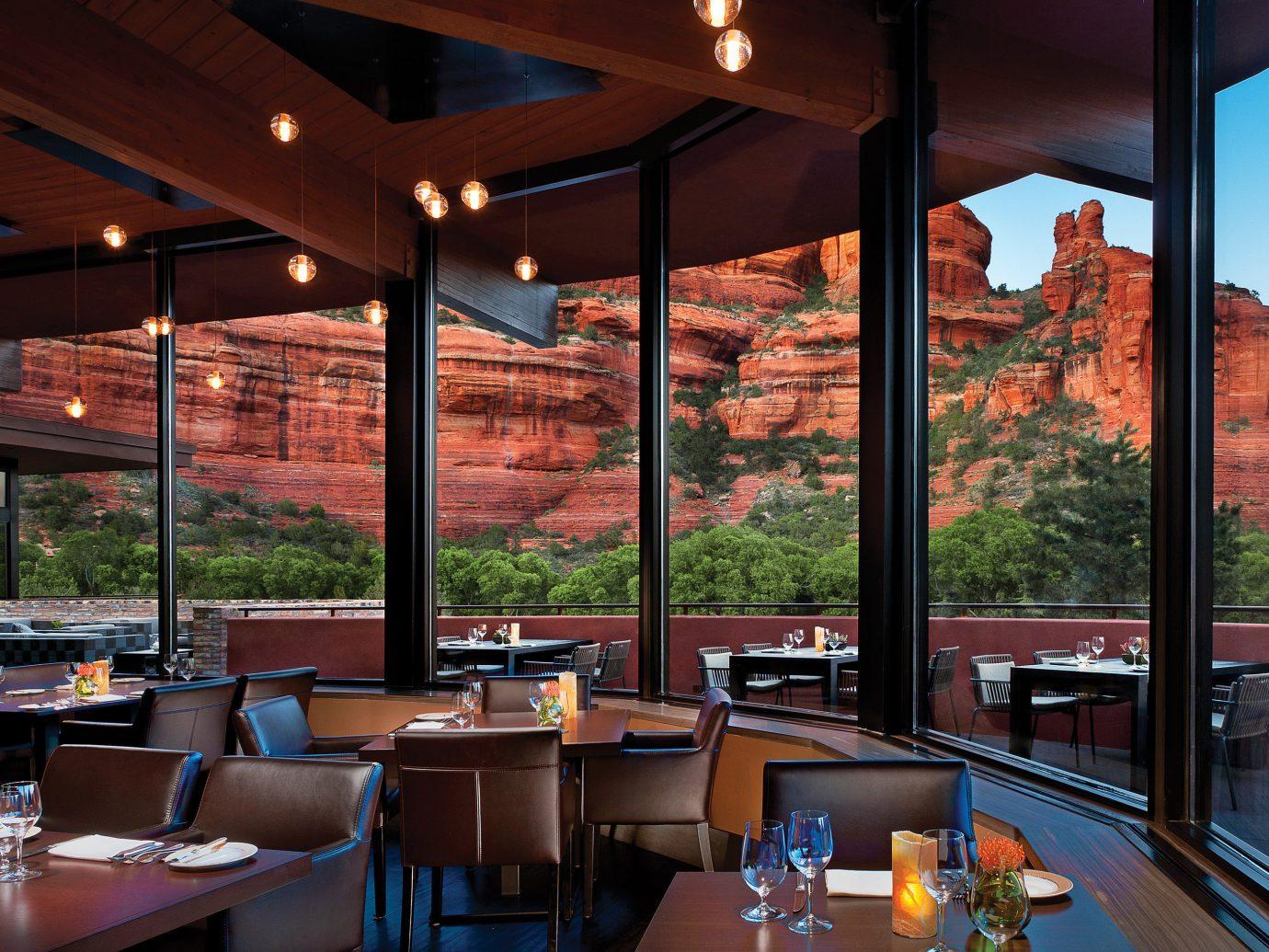 Hotels Jetsetter Guides Luxury Travel Trip Ideas Weekend Getaways table restaurant Resort interior design estate Bar Design overlooking area