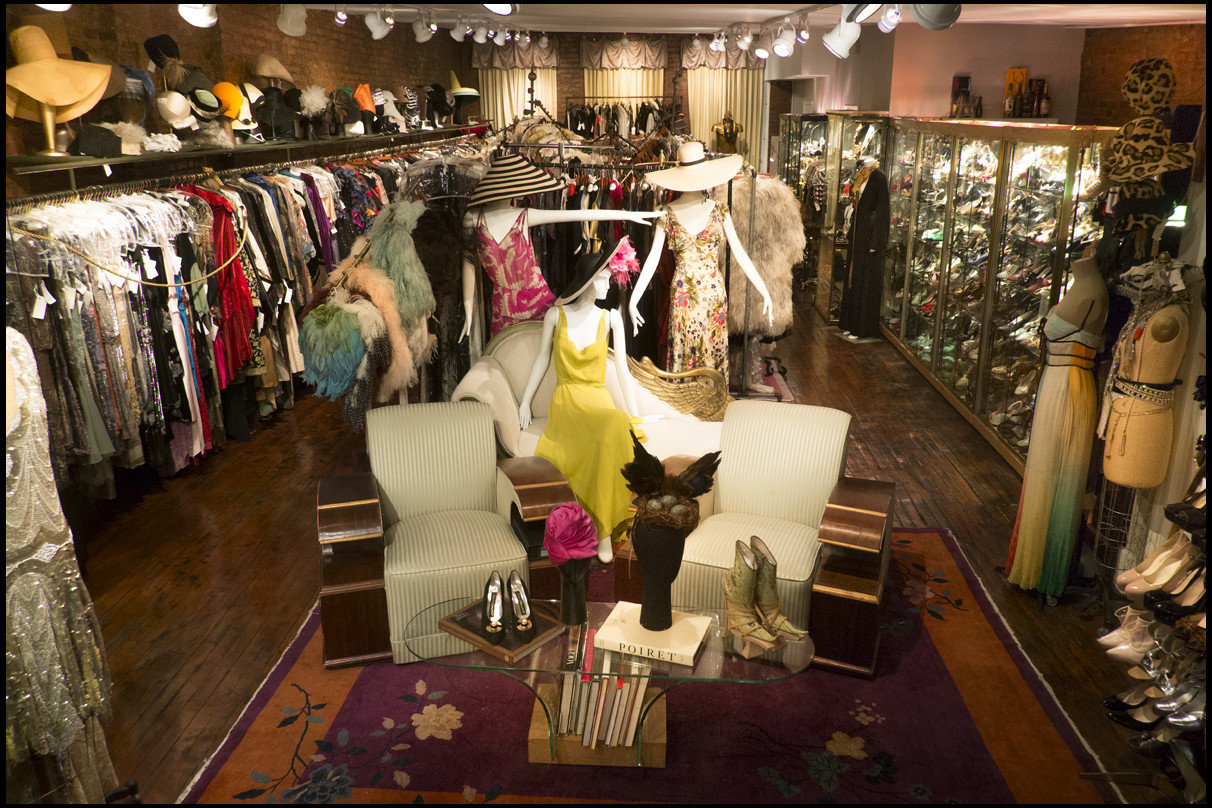 NYC Shops Style + Design indoor clothing Boutique fashion dress display window shopping interior design retail