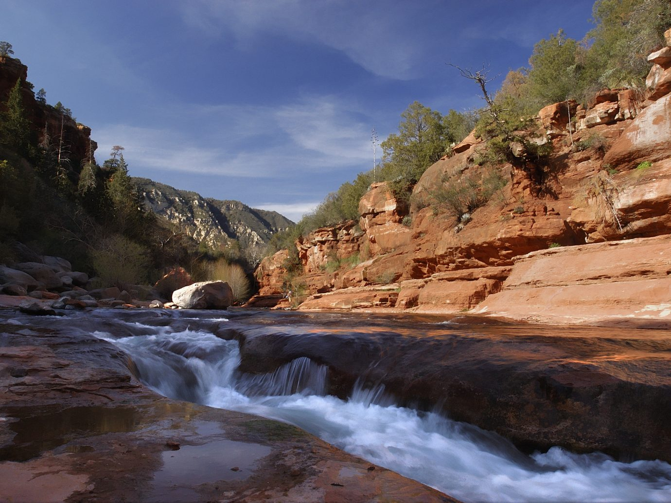 Trip Ideas outdoor Nature mountain rock valley mountainous landforms River landform geographical feature wilderness body of water water canyon rapid rocky landscape Waterfall wadi water feature cliff Coast Sea stream terrain geology national park hillside