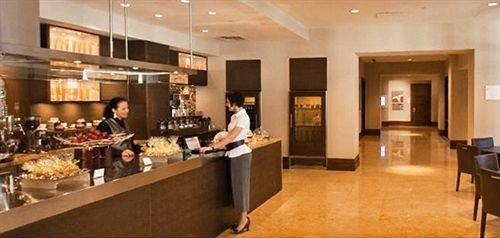 Kitchen function hall restaurant Lobby Island