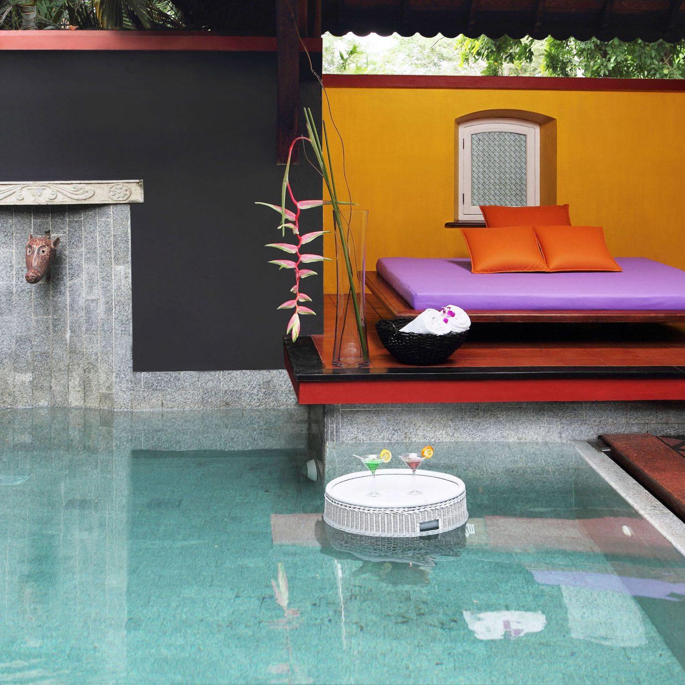 Island Lounge Luxury Pool Romantic Villa swimming pool property backyard flooring cottage