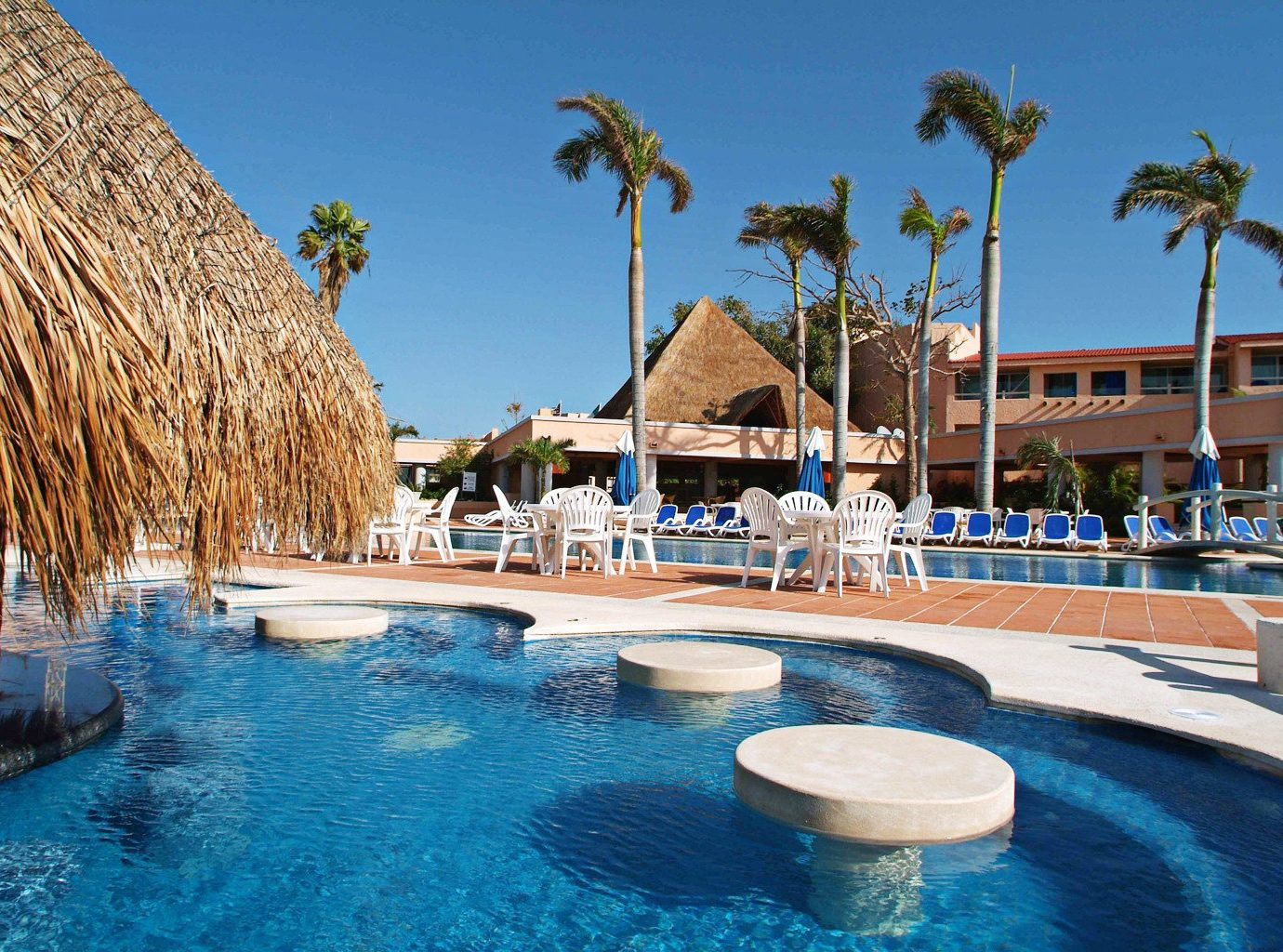 Pool Resort sky water swimming pool leisure chair swimming Water park resort town Island