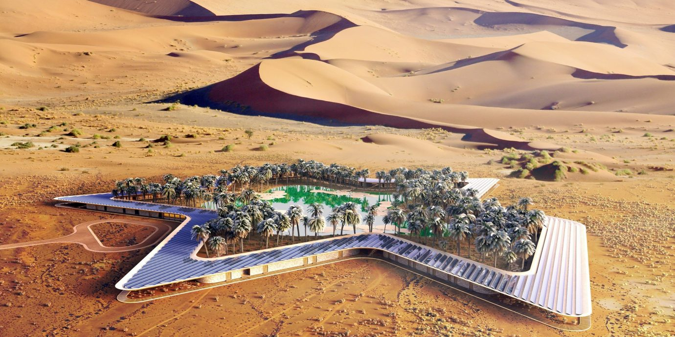 Offbeat habitat natural environment geographical feature landform Nature Desert ecosystem aeolian landform erg landscape sand sahara plain soil aerial photography wadi plateau shore