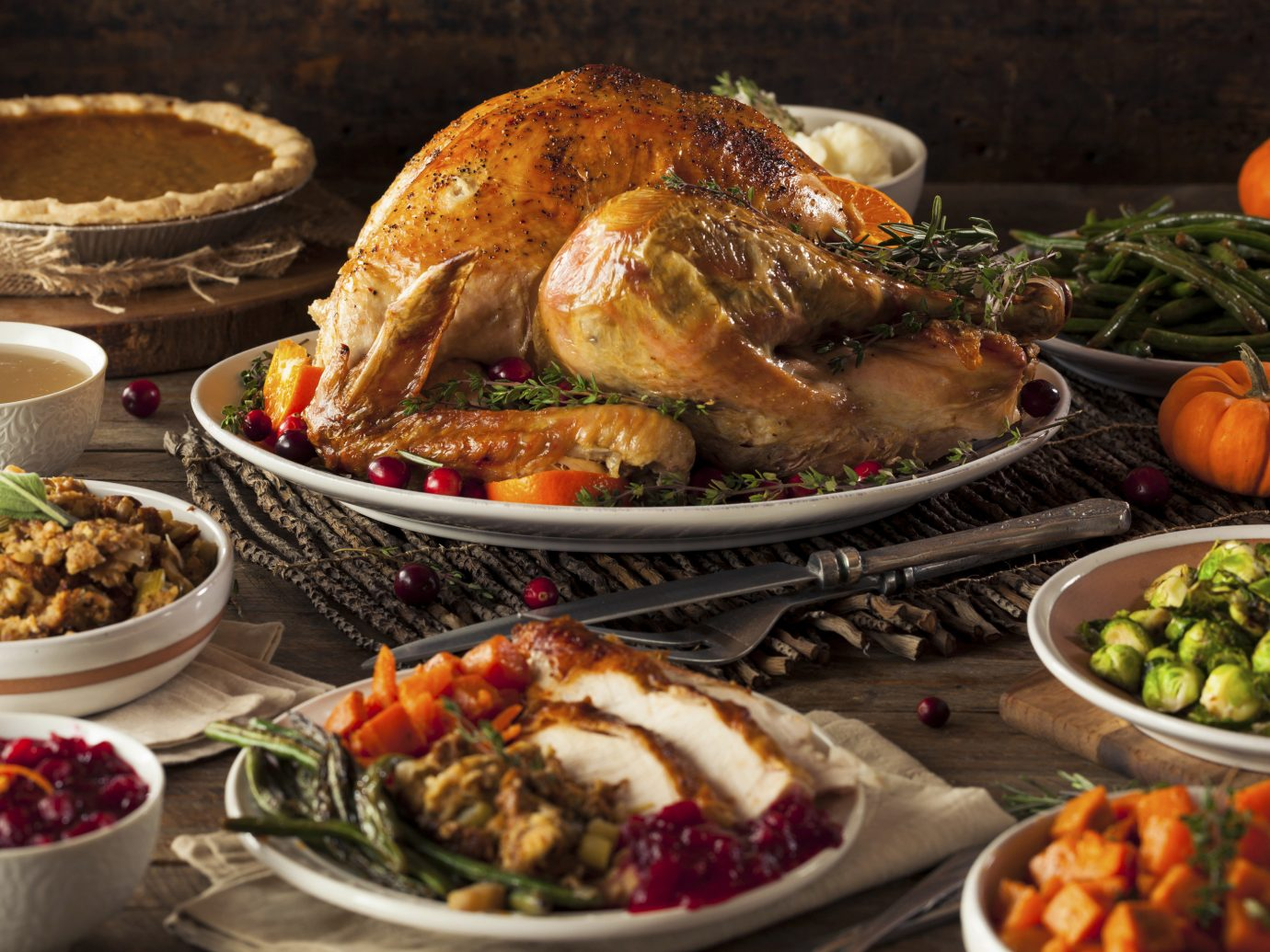Food + Drink Gift Guides Hotels Style + Design Travel Shop Trip Ideas food plate dish meal thanksgiving dinner vegetable dinner christmas dinner meat cuisine thanksgiving roasting holiday different supper several assorted containing