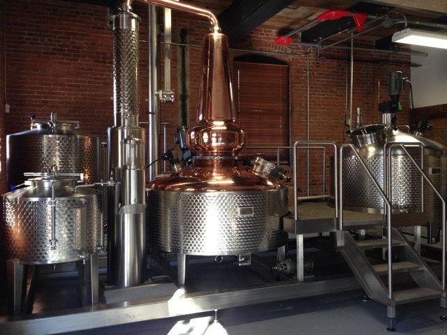 Food + Drink indoor Kitchen floor brewery metal steel stainless silver