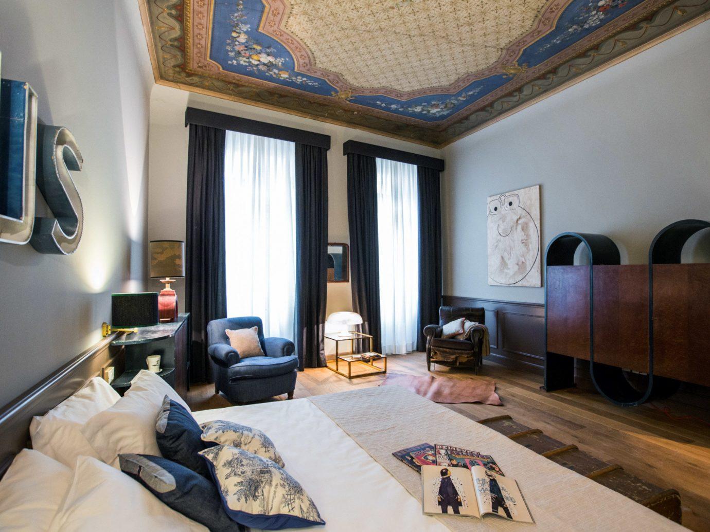 Hotels indoor room property living room estate home Suite interior design real estate cottage Bedroom Design apartment furniture