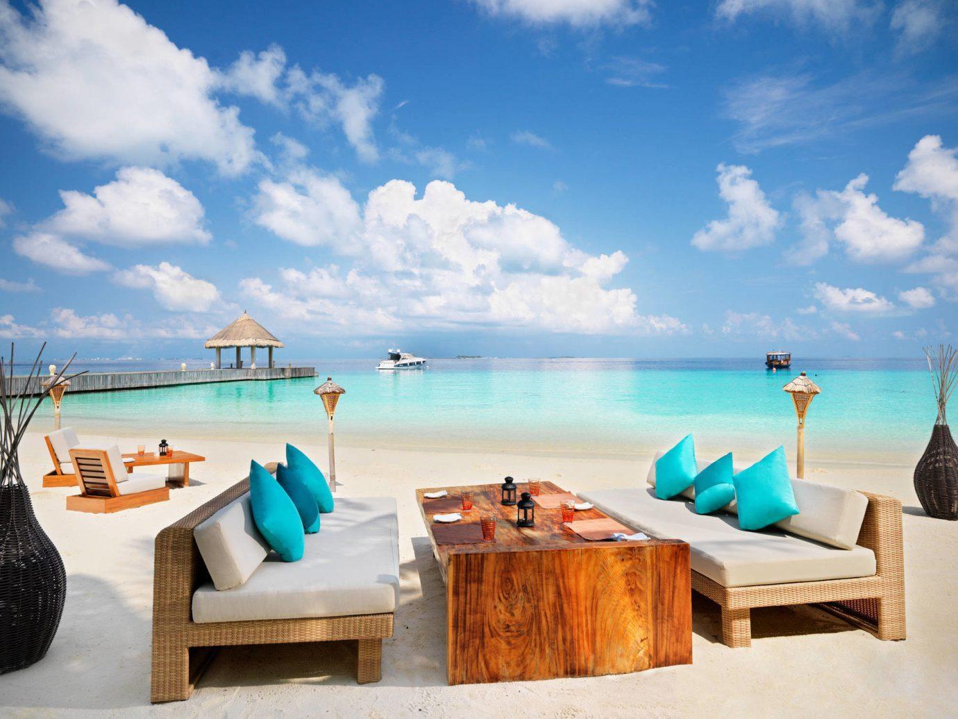 Romance Trip Ideas sky leisure Sea vacation caribbean Ocean Beach swimming pool Resort bay estate Coast Lagoon blue