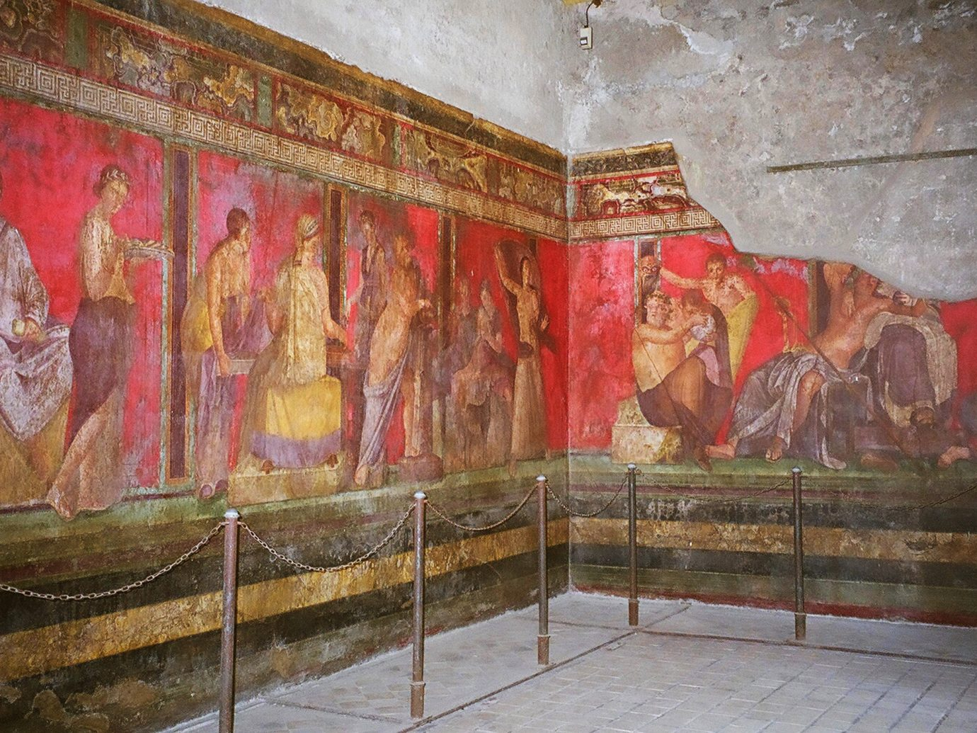 Arts + Culture Landmarks Trip Ideas wall art tourist attraction mural ancient history hindu temple history temple old painting place of worship religion middle ages chapel stock photography area painted dirty