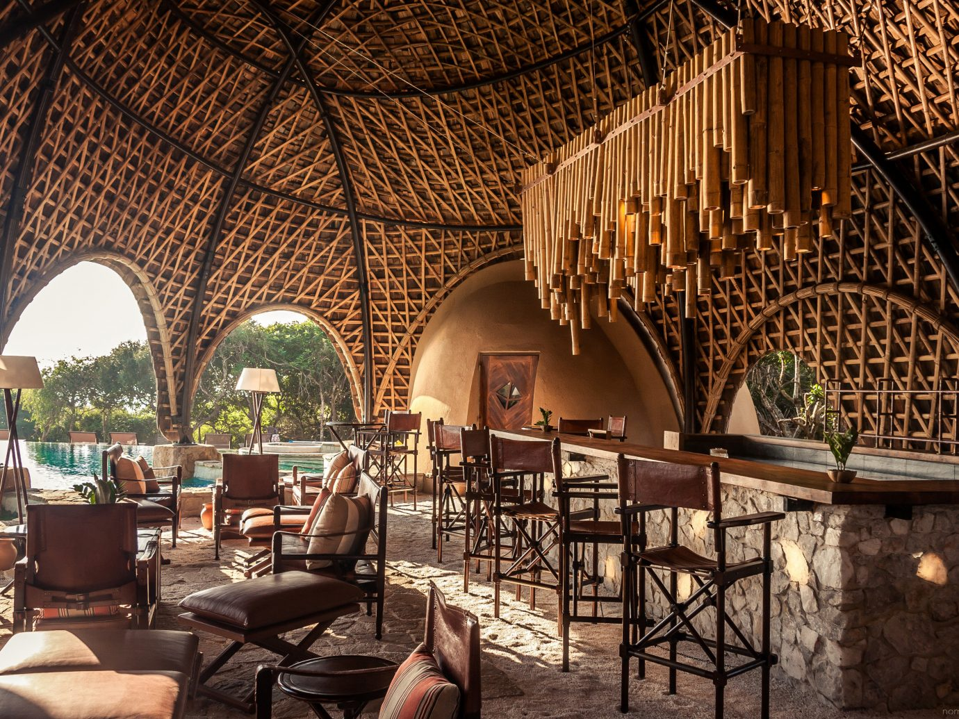 Hotels Outdoors + Adventure restaurant interior design