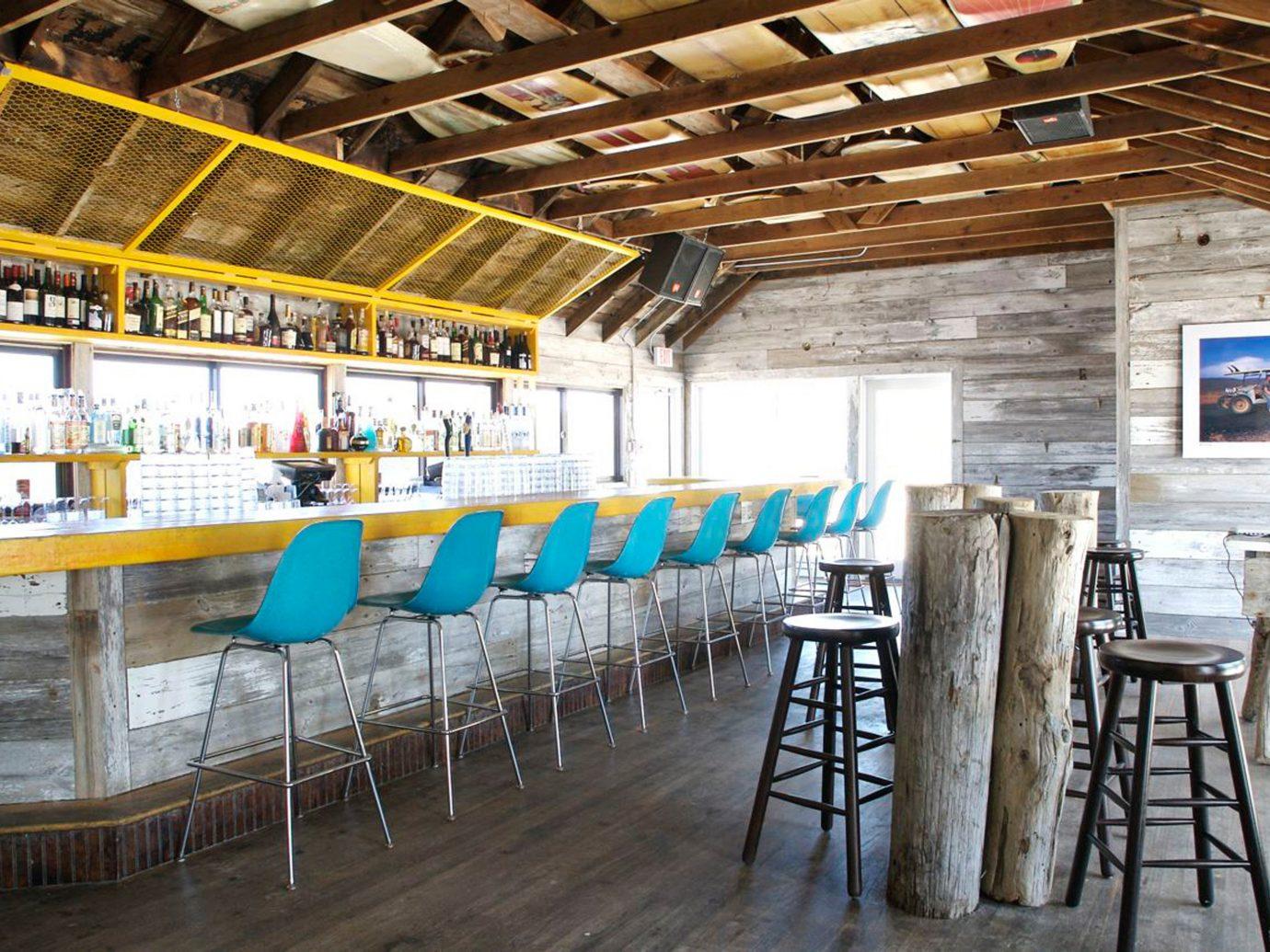 Hotels Solo Travel Trip Ideas floor indoor ceiling restaurant stall wood
