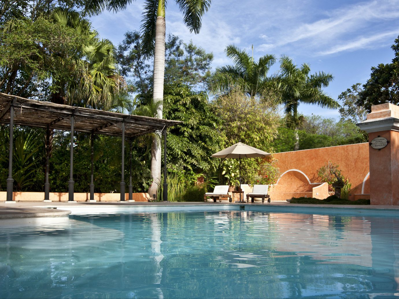 Beach Honeymoon Hotels Mexico Romance Tulum property swimming pool Resort estate leisure real estate water arecales palm tree tree Villa hacienda home outdoor structure house plant water feature