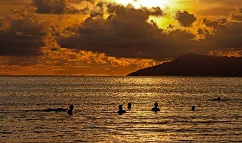 Trip Ideas outdoor sky water Sunset Beach horizon shore Sea cloud sunrise dawn Coast morning Ocean afterglow evening dusk wave cloudy clouds