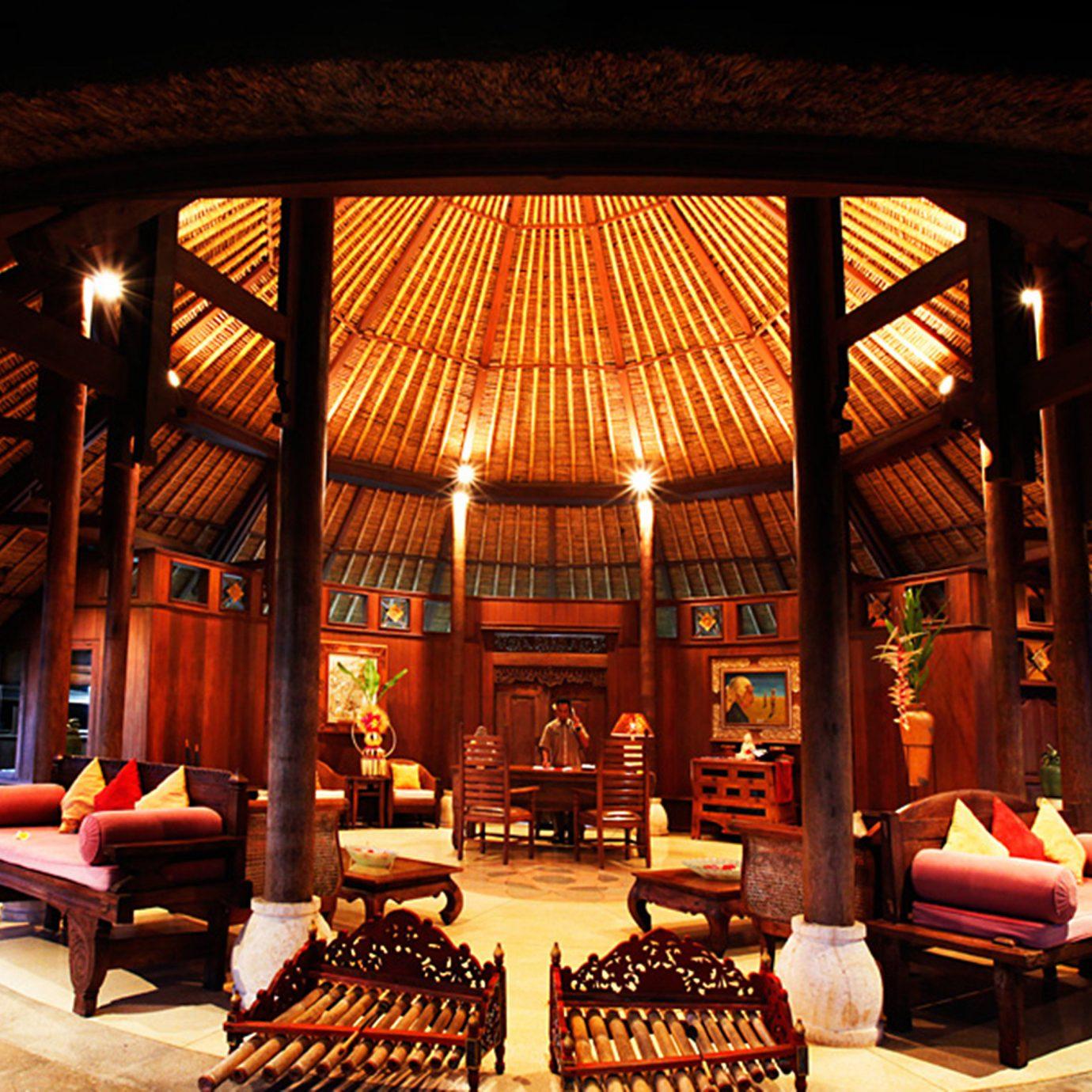 Jungle Lounge Luxury chair building lighting restaurant Lobby