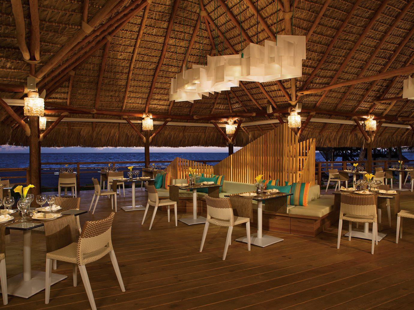 All-Inclusive Resorts Hotels Romance chair table floor indoor restaurant function hall interior design Resort set several