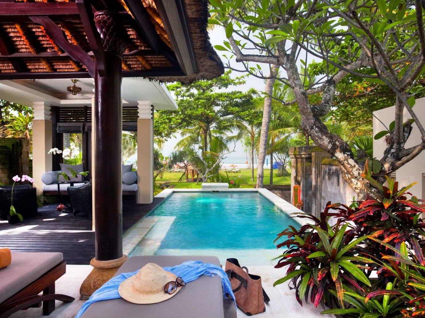 Pool at The Royal Beach Seminyak, Indonesia