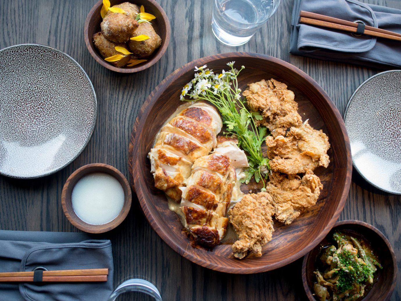 Summer Series table food plate dish wooden meal cuisine breakfast lunch produce asian food meat vegetarian food vegetable