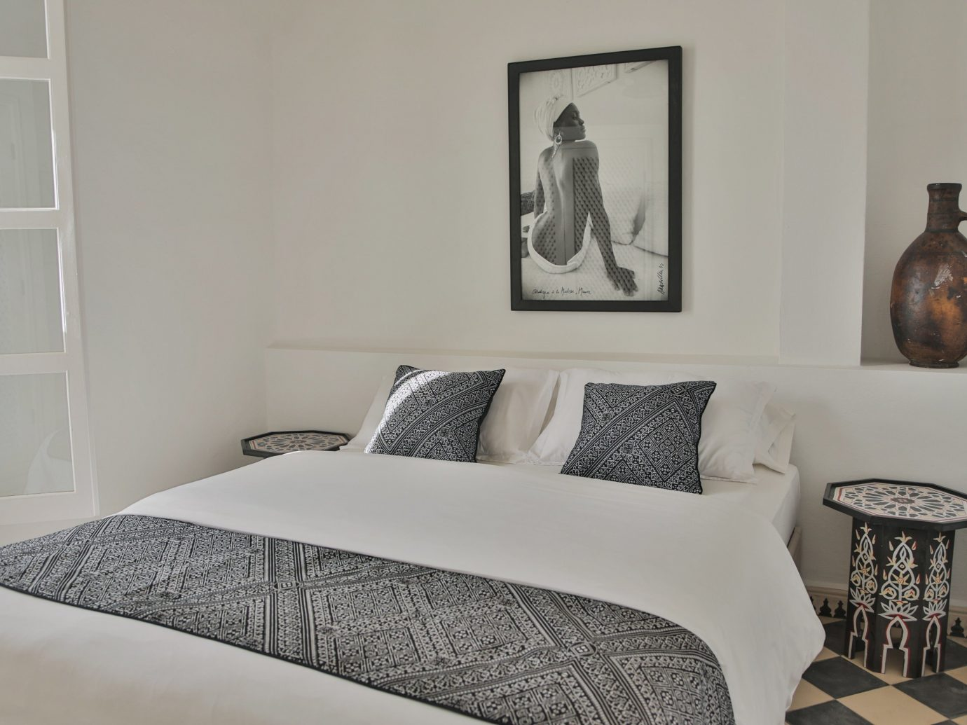 Hotels wall indoor room Bedroom property furniture bed interior design floor pillow home cottage bed frame bed sheet Design apartment decorated