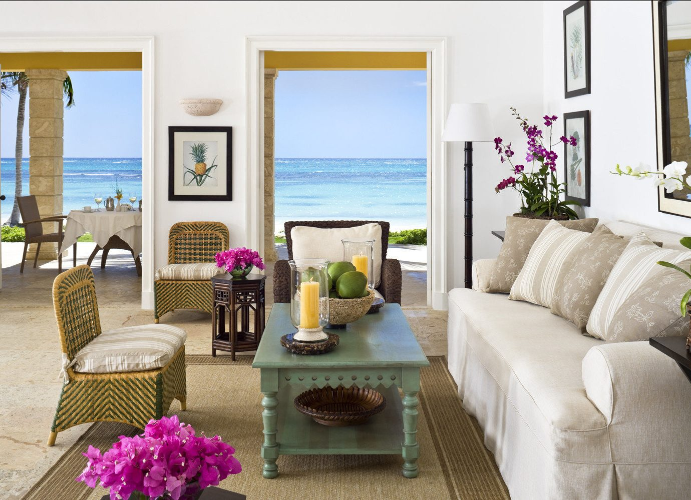 Living Room At Tortuga Bay Hotel In Dominican Republic