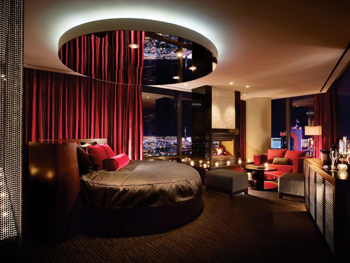Bedroom in the Sky Villa, Palms Casino Resort in Las Vegas