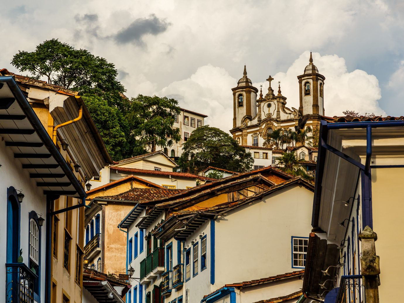 Beaches Brazil Trip Ideas outdoor Town house urban area building road City human settlement street cityscape way travel place of worship day crowd