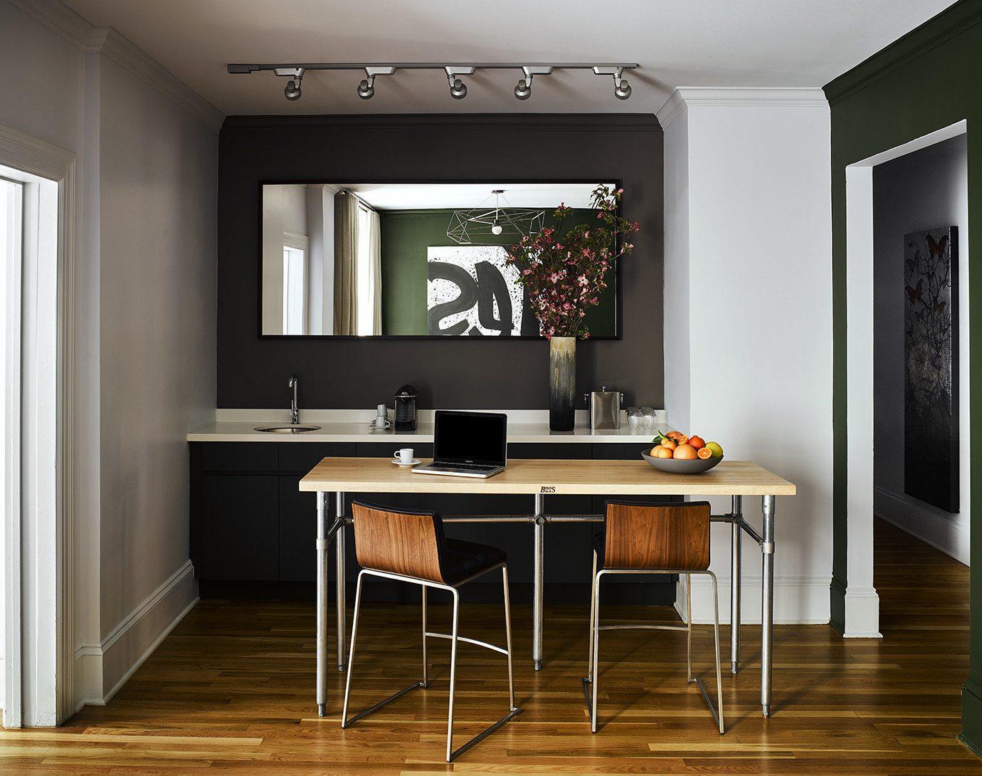 living room hardwood cabinetry home lighting wood flooring flooring laminate flooring Kitchen flat