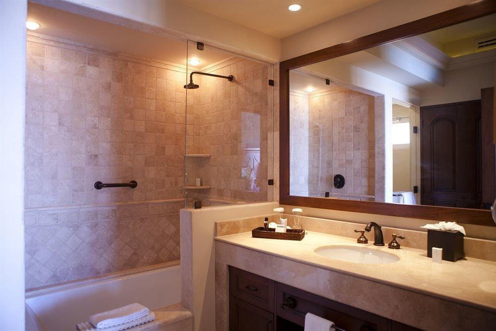 bathroom mirror property sink home cabinetry Suite plumbing fixture tile Kitchen