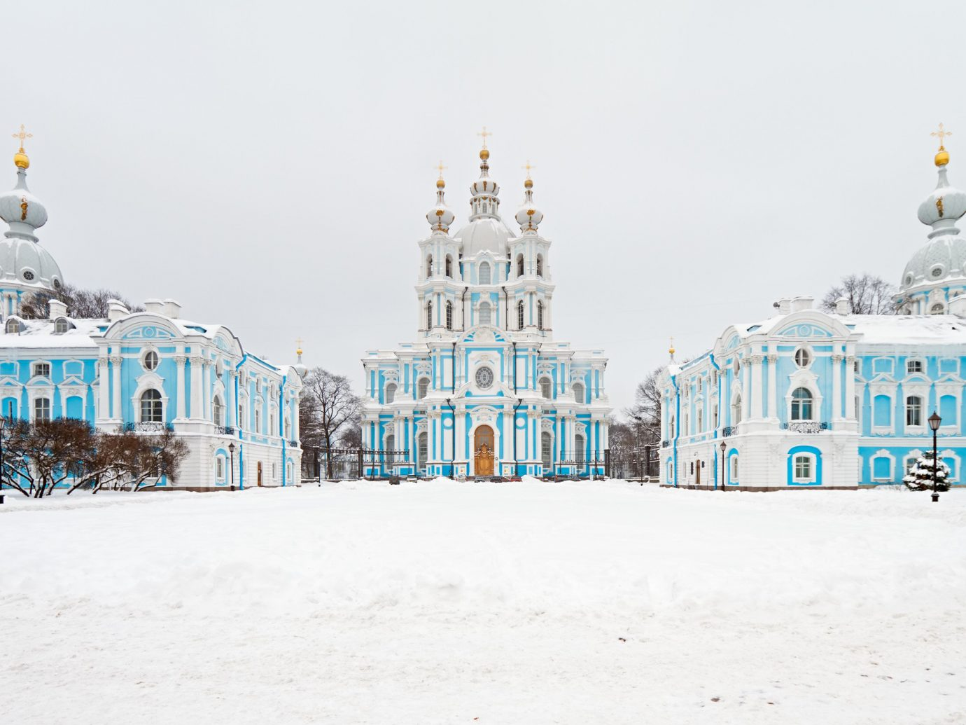 Secret Getaways Trip Ideas blue Winter outdoor landmark snow sky ice building tourism freezing place of worship facade palace Church cathedral bastion day