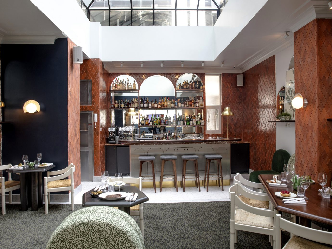 Boutique Hotels Hotels London Romantic Hotels indoor floor chair Living room ceiling restaurant interior design Dining furniture café table area