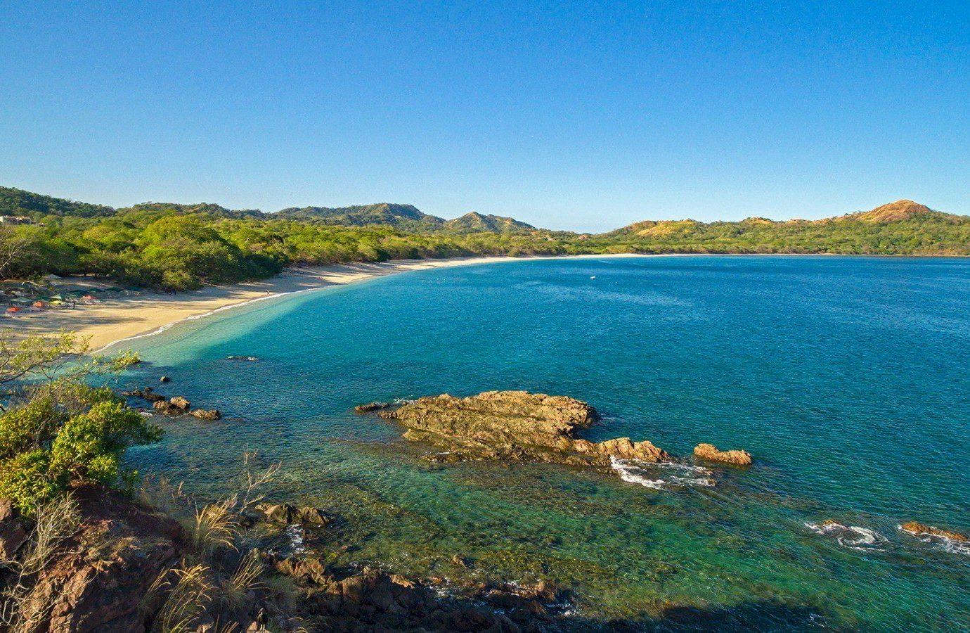 Playa Conchal beach in Costa Rica