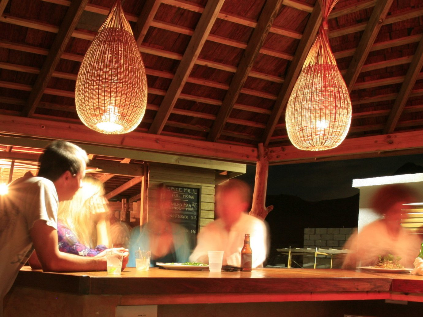 Trip Ideas indoor person restaurant stage Bar meal