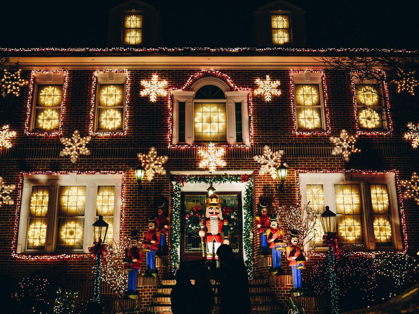 Offbeat night christmas lights christmas decoration Christmas