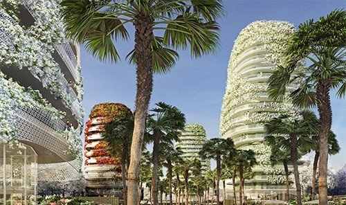 Offbeat tree outdoor plant landmark building plaza temple arecales tourism palm palm family place of worship date palm Resort botanical garden wat flower palace pagoda