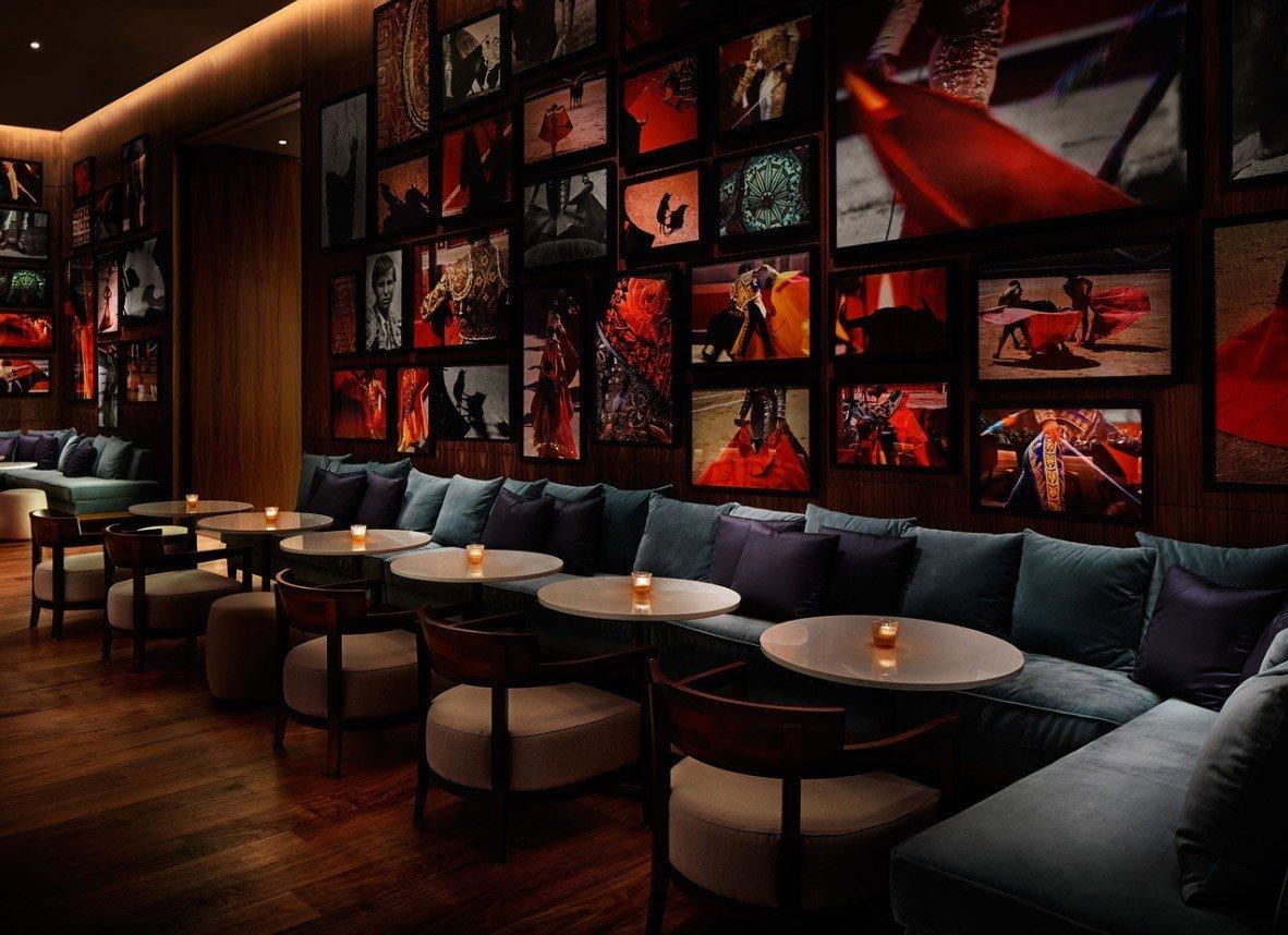 Hotels indoor room Bar restaurant interior design living room nightclub furniture