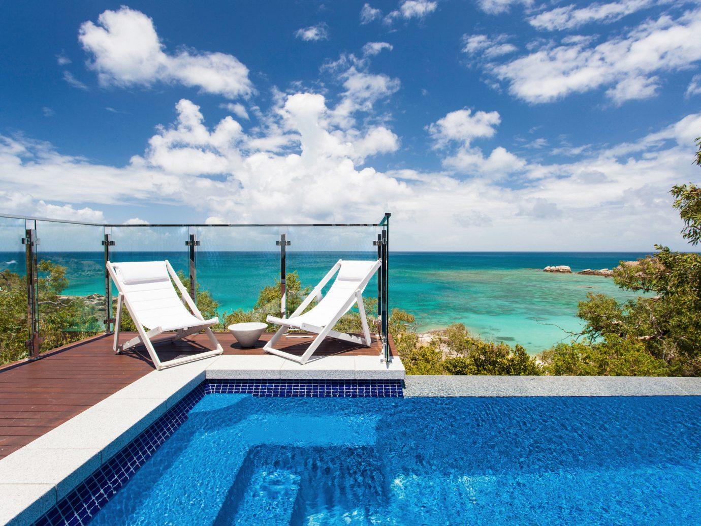 Trip Ideas sky water swimming pool property leisure caribbean Sea Ocean Resort Villa Lagoon blue day