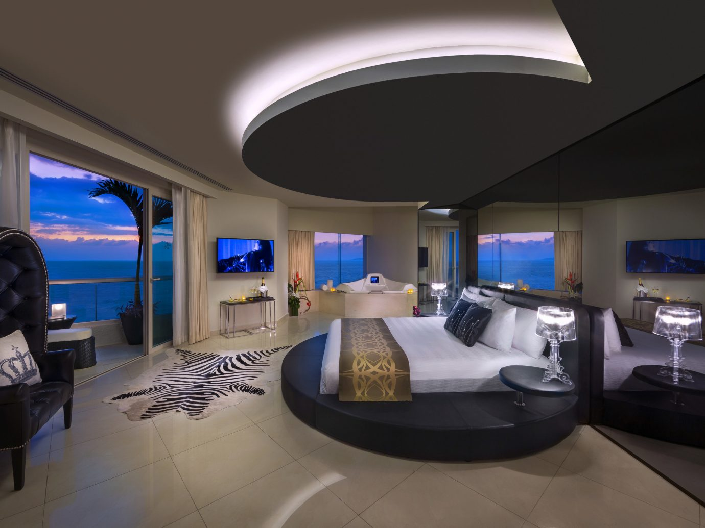 All-Inclusive Resorts Hotels indoor ceiling wall floor interior design room Architecture living room real estate penthouse apartment house estate interior designer apartment counter furniture