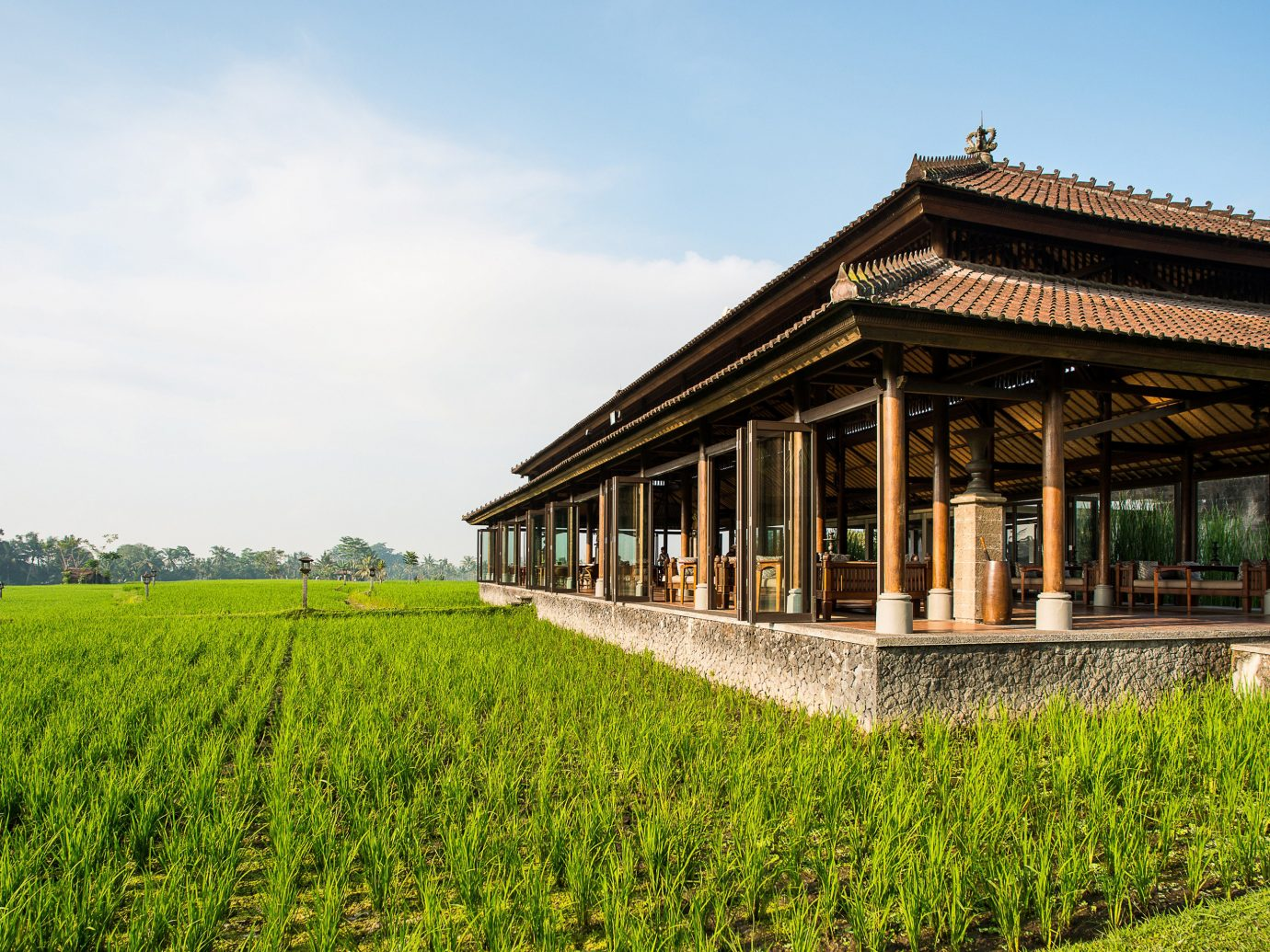 Dining Grounds Hotels Luxury grass sky outdoor building estate rural area agriculture plantation house