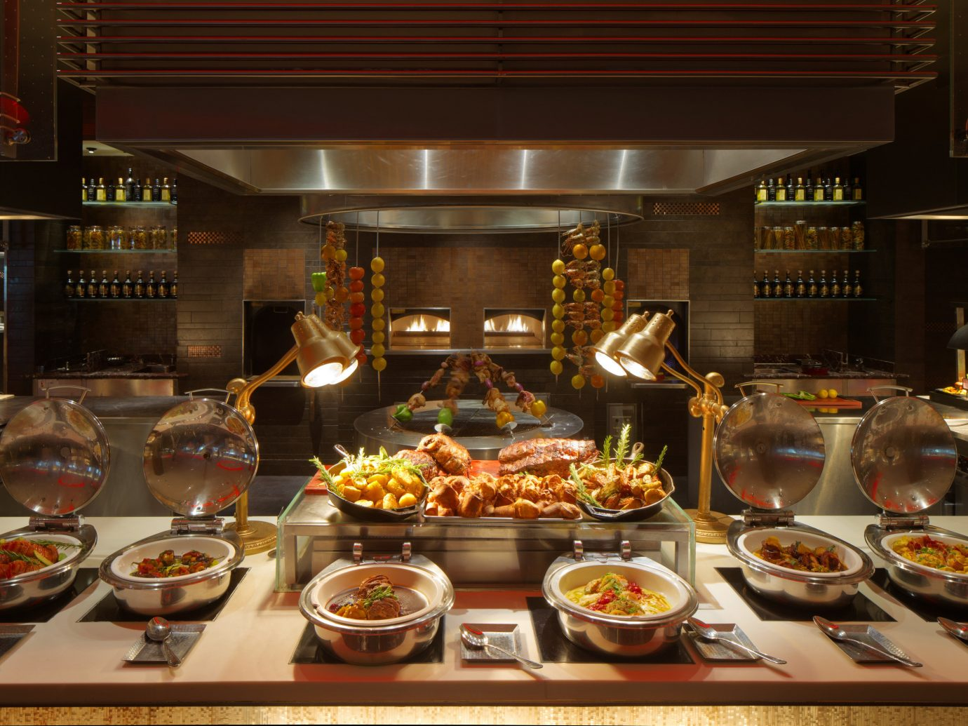 Dubai Hotels Luxury Travel Middle East table food plate indoor buffet dish meal cuisine brunch counter appetizer asian food