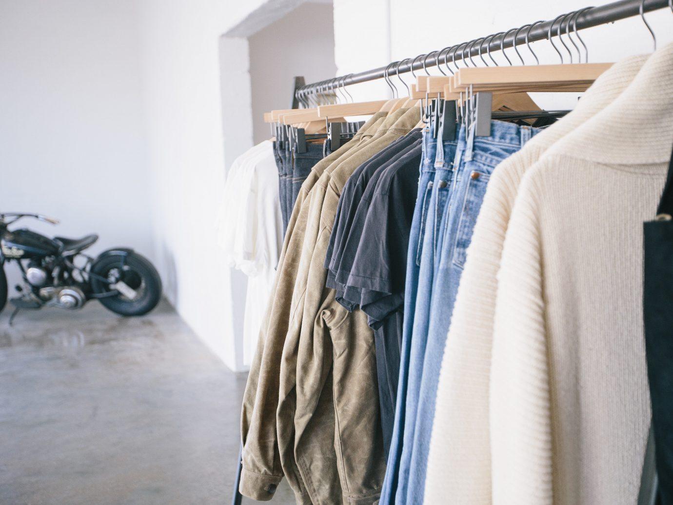 Jetsetter Guides clothing room indoor dress interior design textile closet rack