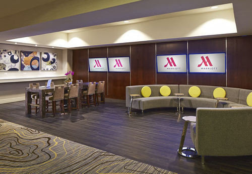 auditorium conference hall recreation room Lobby function hall convention center restaurant