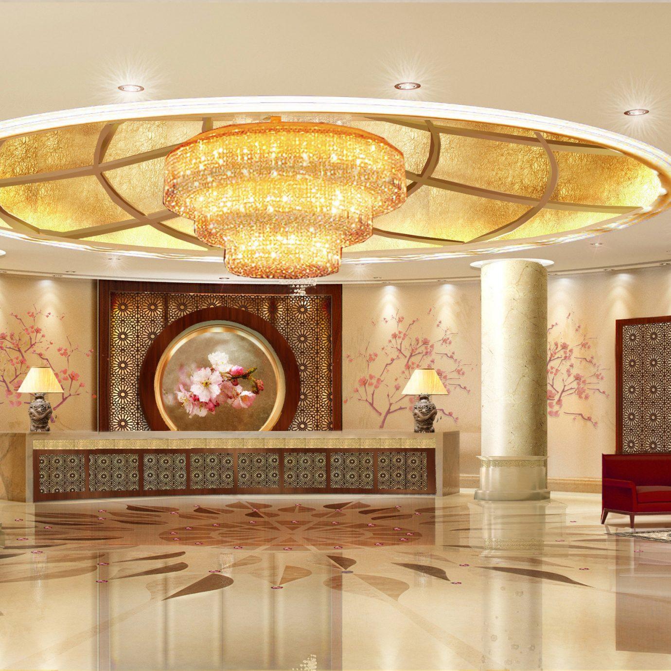 Lobby lighting ballroom