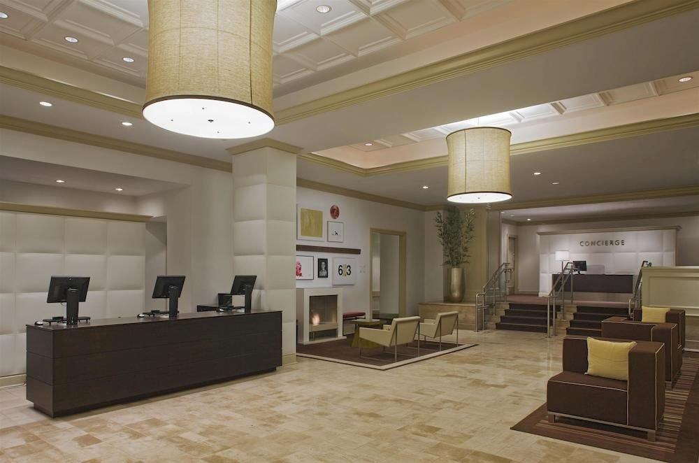 property Lobby living room lighting daylighting condominium