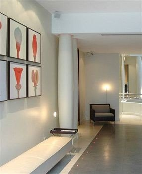 property lighting living room loft flooring Lobby condominium empty