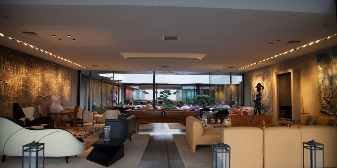 property Lobby lighting home living room restaurant condominium