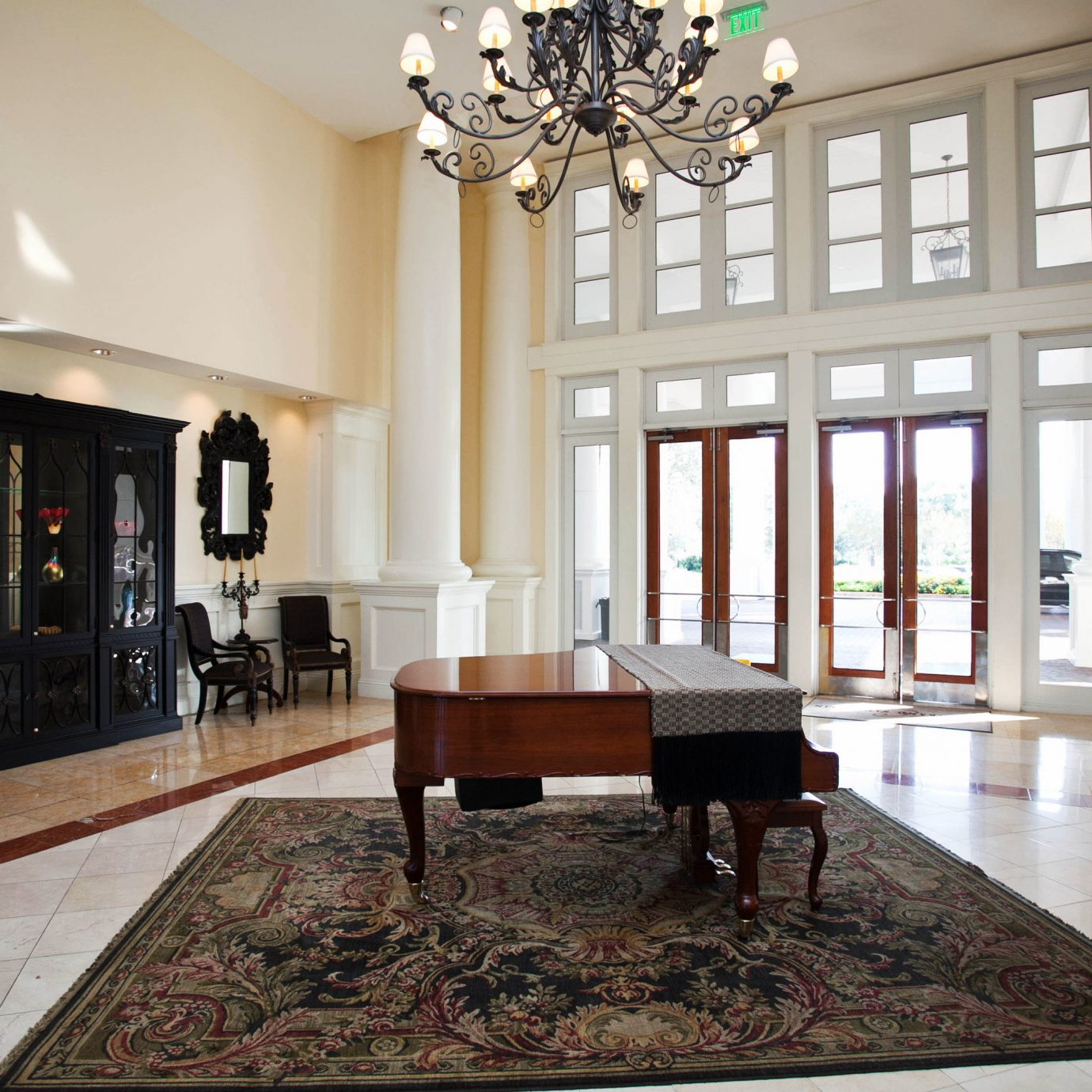 property living room Lobby home hardwood flooring mansion wood flooring hall