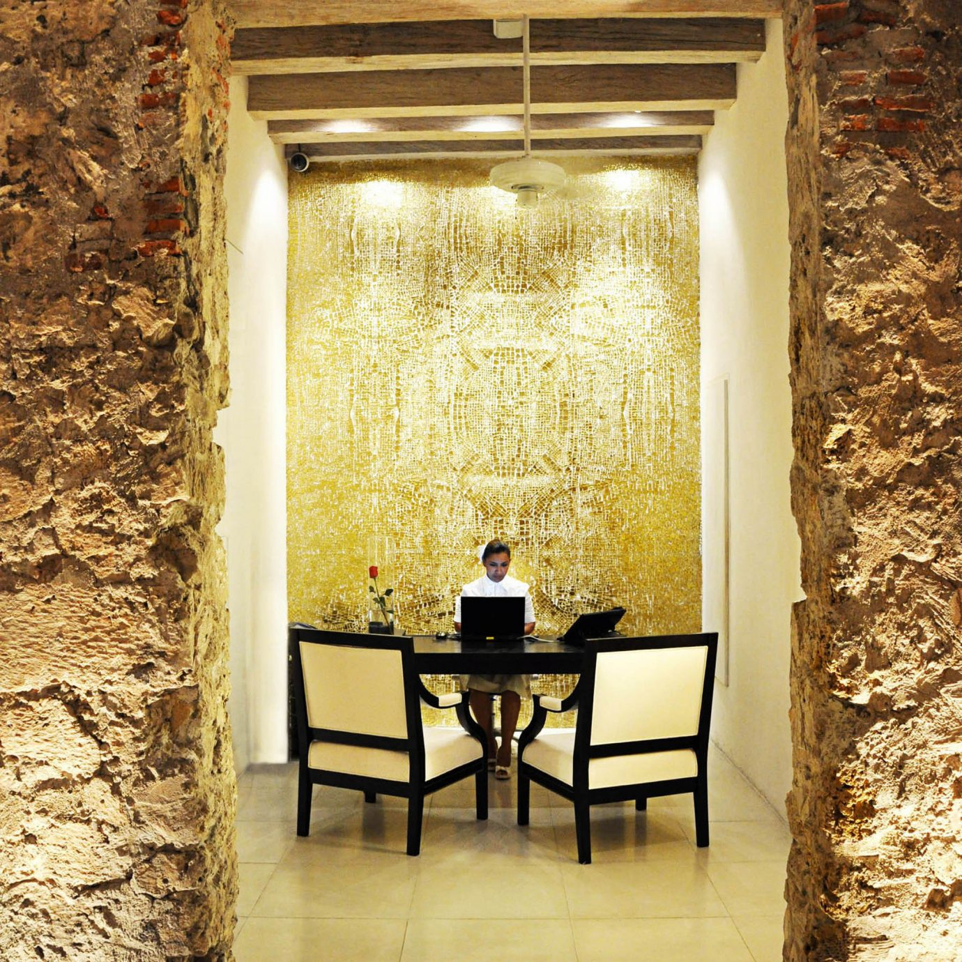 Lobby Modern house light flooring home lighting ancient history living room hall stone