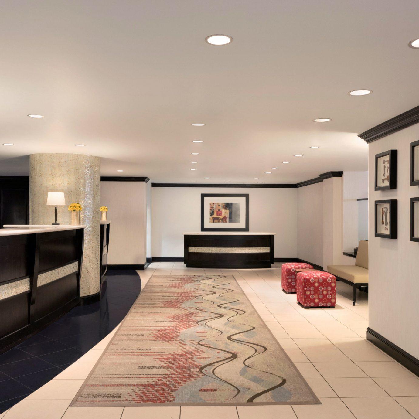 property Lobby living room white Modern