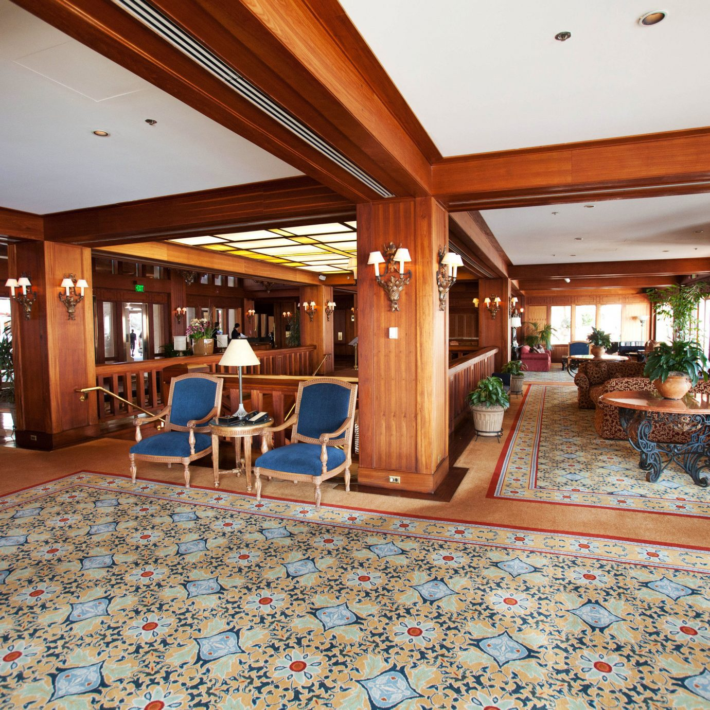 Lobby property building Resort recreation room home mansion rug living room