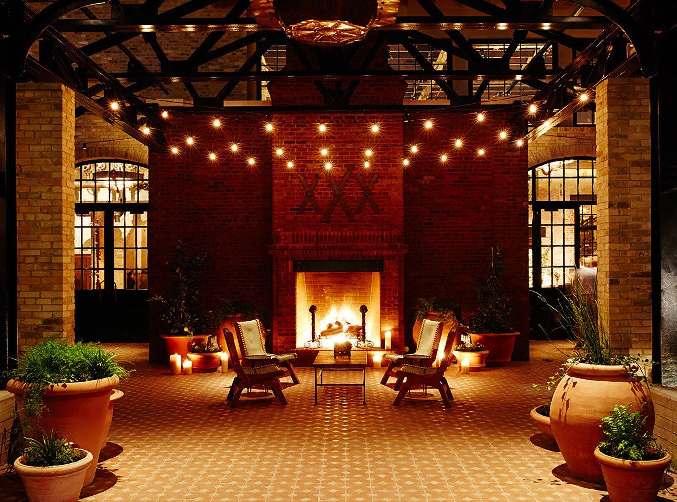 Lobby at Hotel Emma in San Antonio