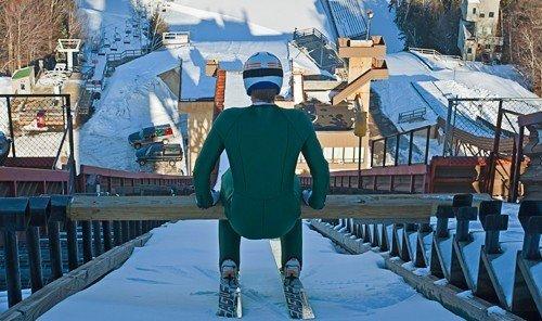 Trip Ideas outdoor person Winter season winter sport swimming