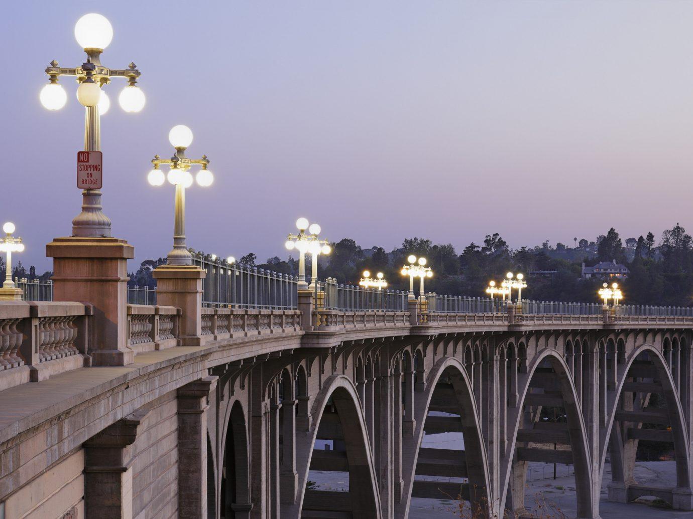 Arts + Culture outdoor sky building landmark bridge yellow tourism cityscape